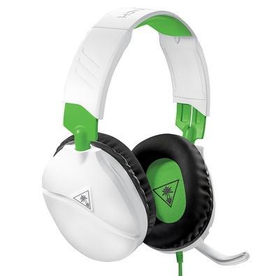 Headset Gamer Turtle Beach Recon 70X, Compatível com Xbox PS4 PC Nintendo Switch e Mobile, Drivers 40mm, Branco - TB70XX0010