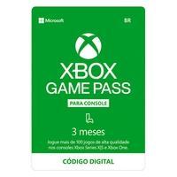 Gift Card Xbox Game Pass para Console 3 Meses - Código Digital