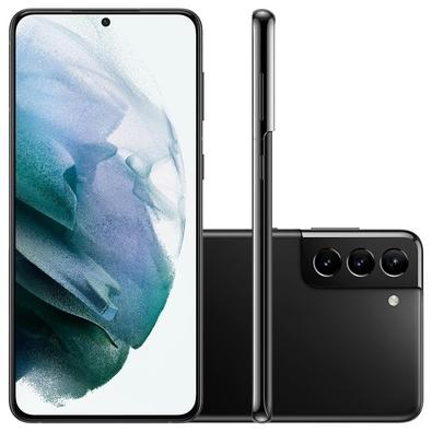 Smartphone Samsung Galaxy S21+ 5G, 128GB, RAM 8GB, Octa-Core, Câmera Tripla, Preto - SM-G996BZKRZTO