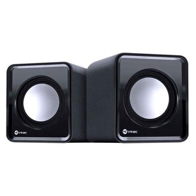 Caixa de Som Vinik VS-01 USB/P2, 2W, Preto - 29384