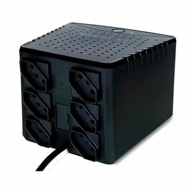 Estabilizador TS Shara Powerest 2000VA, 6x Tomadas 10A, 220V - 9020