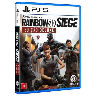 Jogo Tom Clancy's Rainbow Six Siege Deluxe Edition - Playstation 5 - Ubisoft