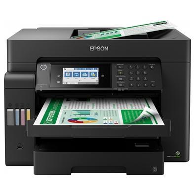 Impressora Multifuncional Epson EcoTank L15150 Colorida, com Conexão Wi Fi/Ethernet/USB, A3, Visor LCD, Bivolt - C11CH72302