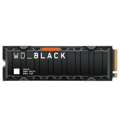 SSD WD Black SN850 2TB NVMe PCIE Gen4 Hotsink, Leitura 7000MB/s e Gravação 5100MB/s  - WDS200T1XHE