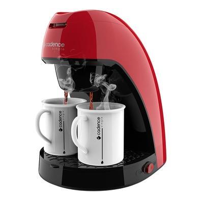 Cafeteira Cadence CAF211 Colors, 450W, 2x Cafés, Vermelho, 127v - 1 7898215982442