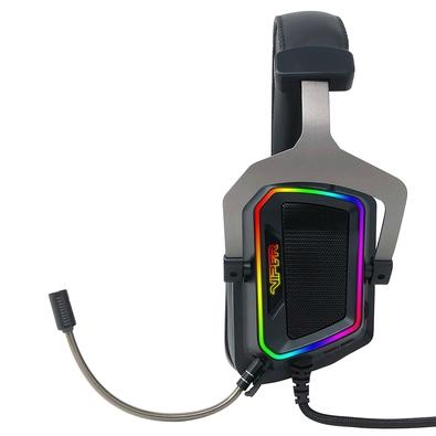 Headset Gamer Patriot Viper V380 RGB, Conexão USB, 7.1 Virtual Surround, Driver 53mm, Preto - PV3807UMXEK