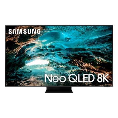Smart TV Samsung 65´ 8K Neo QLED 65QN800A, Mini Led, 120hz, Processador IA, Tela Infinita, Ultrafina, Alexa Built In - QN65QN800AGXZD