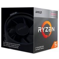 Processador AMD Ryzen 5 3400G, Cache 6MB, 3.7GHz (4.2GHz Max Turbo), AM4 - YD340GC5FHBOX
