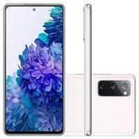 Smartphone Samsung Galaxy S20 FE 256GB, 8GB RAM, Octa-Core, Câmera Tripla, Carregamento Super Rápido, Cloud White - SM-G780GZWSZTO