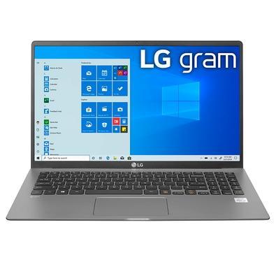 Notebook LG Gram Intel Core i5-1035G7, 8GB, 256GB SSD M.2 NVMe, 15.6´ IPS FHD, Windows 10 Home, Cinza Escuro - 15Z90N-V.BJ51P1