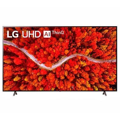 Smart TV LG 75 4K UHD 75UP8050, com WiFi e Bluetooth, HDR, Inteligência Artificial, ThinQ Smart Magic, Google Alexa - 75UP8050PSB