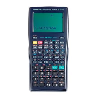 Calculadora Científica PROCALC, 360 funções, Gráfica - SC1000