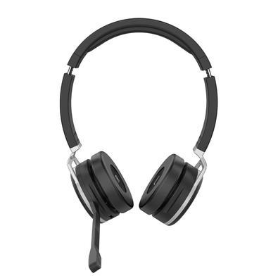 Headset sem Fio Intelbras WHS 80 BT, Bluetooth, Microfone com Cancelador de Ruído Ambiente, Preto - 4010080