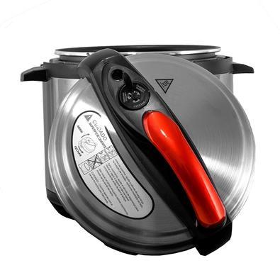 Panela de Pressão Elétrica Amvox 5 Litros com 8 Programações, 110V, Inox - APS 005