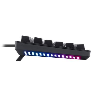 Teclado Mecânico Gamer T-Dagger Bermuda, LED Branco e Underglow RGB, Switch Outemu Blue, ABNT2, Preto - T-TGK312-BL (PT-RED LED)