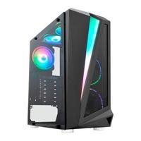 Computador Gamer NTC Powered By Asus Vulcano II 7182 AMD Ryzen 3 3200G, RAM 8GB, SSD 480GB, 500W, Linux, Preto - Ntc 7182