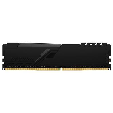 Memória Kingston Fury Beast, 16GB (2x8GB), 3000MHz, DDR4, CL15, Preto - KF430C15BBK2/16