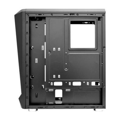 Computador Gamer NTC Powered By Asus Intel Core i7-10700, 16GB RAM, SSD 480GB, RGB, Linux, Preto - Ntc VULCANO II 7179