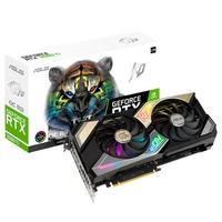 Placa de Vídeo Asus NVIDIA GeForce KO-RTX 3060 Ti V2 OC Gaming LHR, 8GB, 14Gbps, GDDR6, Ray Tracing, DLSS, RGB, Preto - 90YV0G1G-M0NA00