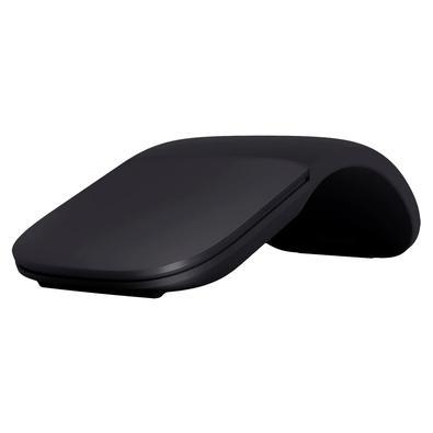 Mouse Sem Fio Microsoft Arc, Conexão Bluetooth 4.1, Preto - ELG-00001
