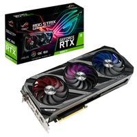 Placa de Vídeo Asus NVIDIA GeForce Rog Strix RTX 3060 Ti O8G V2 Gaming, RGB, 8GB GDDR6, DLSS, LHR, Ray Tracing