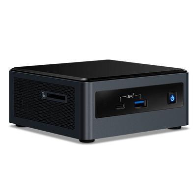 Mini PC NUC Intel Core i3-10110U, 4GB RAM, SSD 240GB, WiFi, Windows 10 Pro - NUC101104240WP