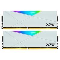 Memória XPG Spectrix D50, RGB, 32GB (2x16GB), 3600MHz, DDR4, CL18, Branca - AX4U360016G18I-DW50