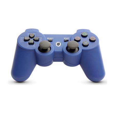Controle Dazz Dualshock Bluetooth PS3 Azul 621265