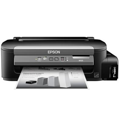 Impressora Epson WorkForce M105, Mono, Wi-Fi, Bivolt - WF-M105