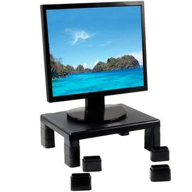 Suporte Retangular para Monitor LED/LCD Mobile Leadership - 1719 Preto