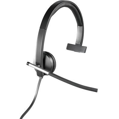 Headset Logitech H650e USB Mono - 981-000513