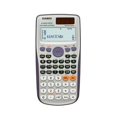 Calculadora Científica Casio 417 Funções, Visor Natural, Dígitos 10+2, Alimentação Solar e Bateria - FX-991ES PLUS