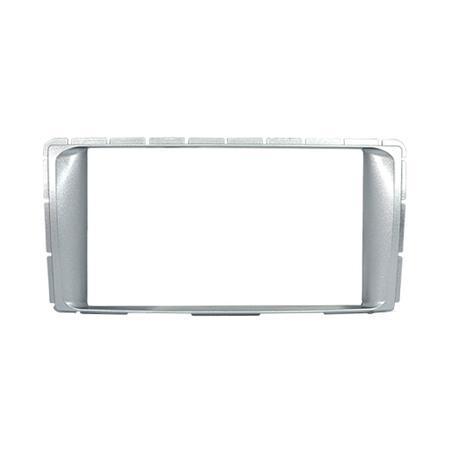 Moldura para Painel Fiamon 2DIN Toyota Hilux 12-13 Prata 2445