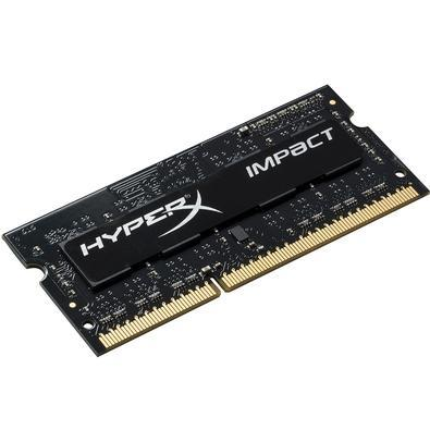 Memória Kingston HyperX Impact 4GB 1600Mhz DDR3 p/ Notebook  CL9 - HX316LS9IB/4