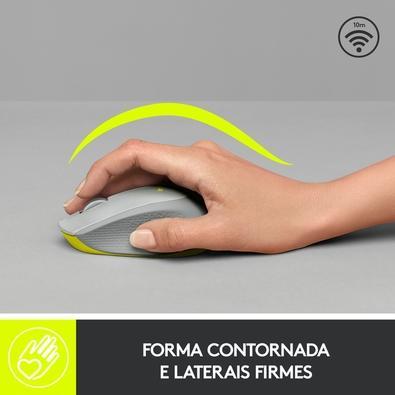 Mouse Logitech M280 Sem Fio Cinza 1000DPI - 910-004285