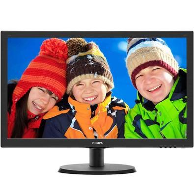 Monitor Philips LED 21.5´ Widescreen, Full HD, HDMI/VGA - 223V5LHSB2
