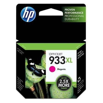 Cartucho de Tinta HP Officejet 933XL, Magenta - CN055AL