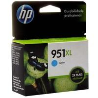 Cartucho de Tinta HP Officejet 951 XL Ciano CN046AB