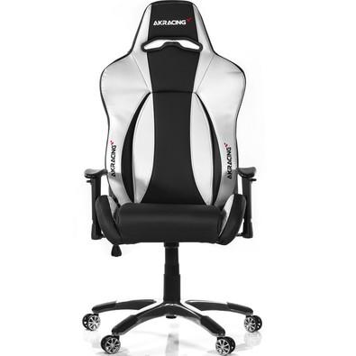 Cadeira Gamer AKRacing Premium V2, Black Silver - 10047-2