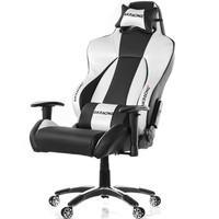 Cadeira Gamer AKRacing Premium V2, Black Silver - 10047-2