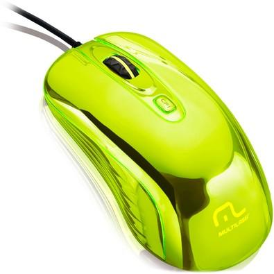 Mouse Gamer Warrior Chrome Led USB Cromado - MO228