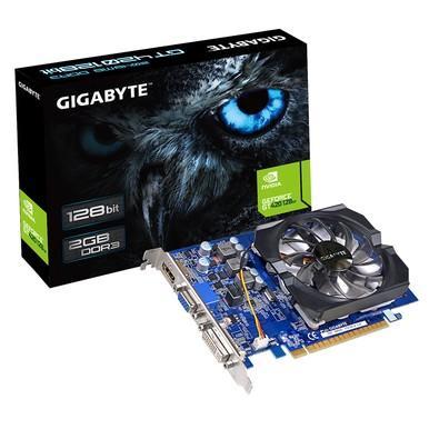 Placa de Vídeo VGA Gigabyte NVIDIA GeForce GT 420 2GB - GV-N420-2GI - rev.3.0