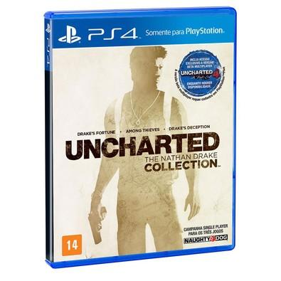 Game Uncharted: The Nathan Drake Collection PS4