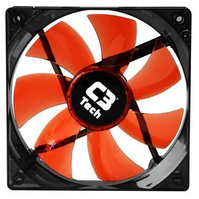 Cooler FAN C3 Tech F7-L100 RD Storm 12cm LED C3T