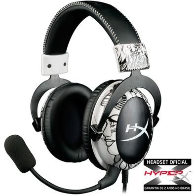 Fone de Ouvido Headset Gamer Hyper X Mav Edition Kingston Khx-h3clw1