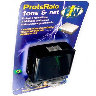 Protetor de Raio PW Net Fone Plus 127V - 209