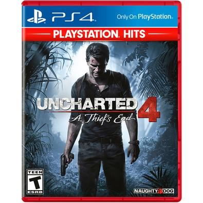 Game Uncharted 4: A Thiefs End PS4