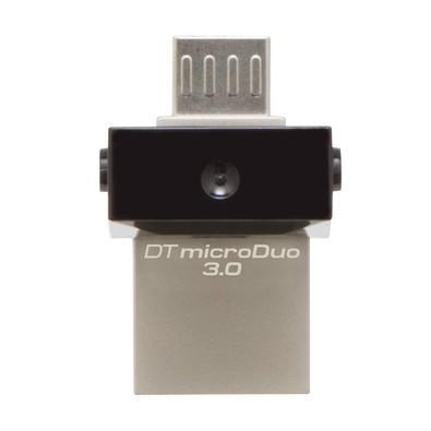 Pen Drive Kingston DataTraveler USB 3.0 e MicroUSB p/ Smartphone 64GB - DTDUO3/64GB
