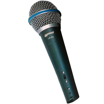 Microfone Lexsen - Dinamico Cardioide para Vocal - LM-58A