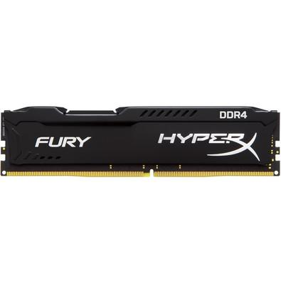 Memória Kingston HyperX FURY 4GB 2666Mhz DDR4 CL15 Black - HX426C15FB/4